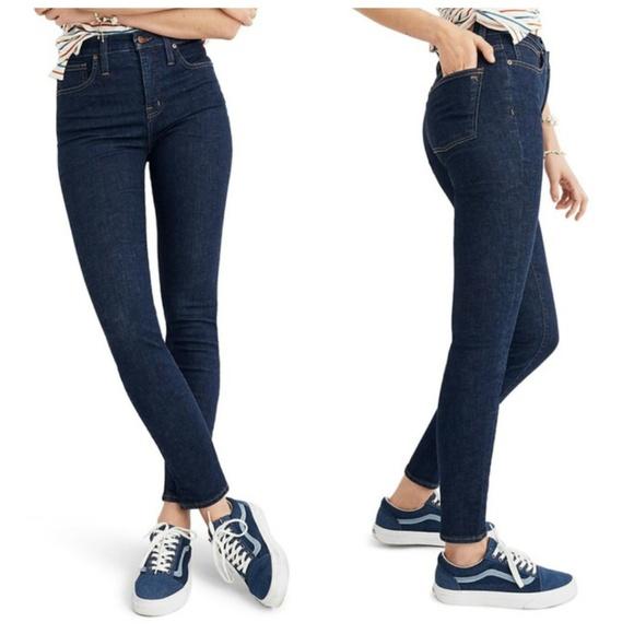 Madewell Denim - NWT Madewell Curvy High Rise Skinny Jeans Lucille